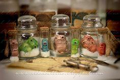 """El Dodo Albino: creatures - bottled """"diseases"""""""