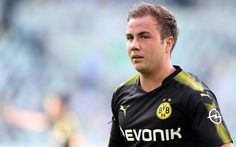 Download wallpapers Mario Gotze, BVB, footballers, Bundesliga, soccer, Borussia Dortmund