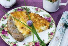 Sandlake Country Inn shares their elegant Breakfast Pie