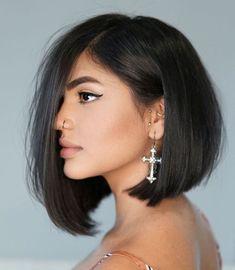 40 Newest Haircut Ideas and Haircut Trends for 2020 - Hair Adviser Cute Haircuts, Thin Hair Haircuts, Round Face Haircuts, New Haircuts, Cool Hairstyles, Round Haircut, Latest Hairstyles, Bob Hairstyle, Short Haircuts Over 50