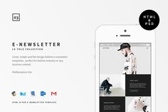 Le-Tole E-newsletter by BOXKAYU on @creativemarket