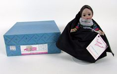 "Vintage Madame Alexander "" EGYPT # 543 "" International 8"" Doll w/ Box Tag #DollswithClothingAccessories"