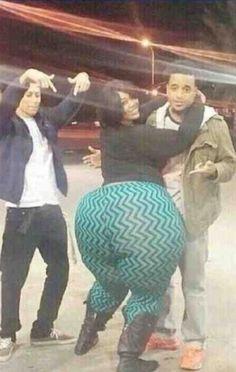 Worlds Biggest Black Ass