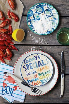 Clambake Canape Plate - anthropologie.com