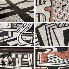 Just one more. The sidewalks of Copacabana. Roberto Burle Marx. #artinstreetscape#designerseyes#communityart#artistshands#pinterest