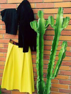 #yellow #cashmere #velvet #dallapartedellegonne