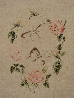 Prace według wzorów Marie-Therese Saint-Aubin   haftRenArt