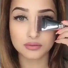 Maquiagem # Make # Make-up # Girl # Dicasdema Make-up # Dicasdema Make-up Basic Pool Maintenance Tip Nose Makeup, Contour Makeup, Eyebrow Makeup, Skin Makeup, Eyeshadow Makeup, Makeup 101, Beauty Makeup Tips, Makeup Brushes, Beauty Products