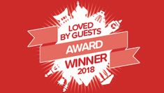 """Wiscasset Woods Lodge has just received the """"Loved by Guests"""" award from Hotels.com. Thanks to everyone who has stayed with us and left such lovely reviews."""