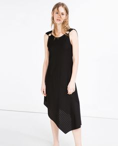 ASYMMETRIC LENGTH DRESS-View All-DRESSES-WOMAN | ZARA United States
