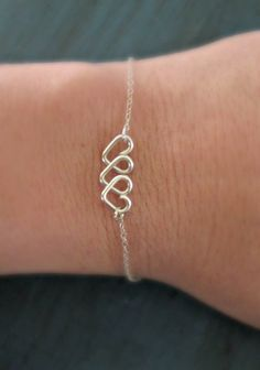 Infinite Love Heart Infinity Bracelet