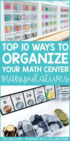 Staying organized is the #1 way I have found to save time! Finding the right systems can take time, but once you have it, say hello to all of the hours you didn't know you had! Below is the math area of my classroom. Today, I'm going to break down 10 of my favorite math center organization tips that really work!
