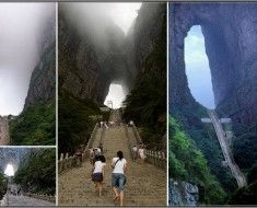 999 Steps lead up to Heaven Gate - Tianmen Mountain 11