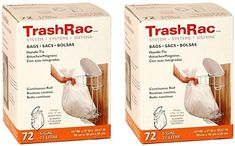 Amazon.com: Sunbeam Trashrac Trash Bags 5 Gal. 0.7 Mil 72 Bags - Psack of 2 (Total 144 Bags): Home & Kitchen Camper Conversion, Health And Beauty, Amazon, Mini, Kitchen, Bag, Amazons, Cooking, Riding Habit