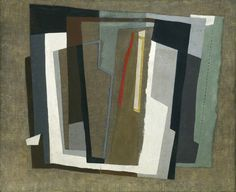 John Piper, Abstract Painting, c.1937, oil on canvas, 55.4 x 68 cm. Ashmolean Museum, Oxford.