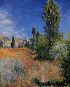 Landscape on the Ile Saint-Martin ~ Claude Monet