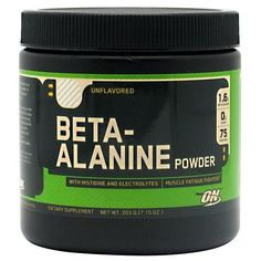 One of the Hottest new products on the market Optimum Nutrition...   http://fitnessgearusa.com/products/optimum-nutrition-beta-alanine?utm_campaign=social_autopilot&utm_source=pin&utm_medium=pin
