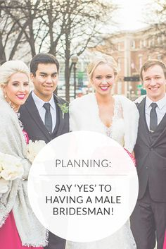 Is It Okay To Have A Male Bridesmaid? The Answer Is Yes! | George Street Photo & Video