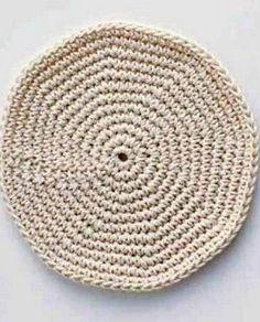 Схемы круга крючком