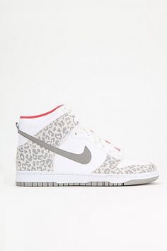 Nike Animal Print Dunk High-Top Sneaker <3 #DOPE