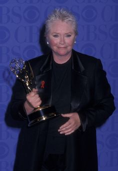 Susan with the Annual Daytime Emmy Award for her role in The Bold and the Beautiful