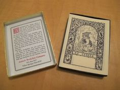 Vintage Antioch Bookplate Company Elf Gnome Pack of 45 Bookplates Fantasy