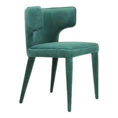 Kitchen & Dining Chairs You'll Love in 2020 | Wayfair Fabric Dining Chairs, Dinning Chairs, Upholstered Dining Chairs, Side Chairs, Dining Room, Kitchen Dining, Green Furniture, Furniture Care, Moe's Home Collection