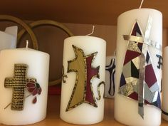 #Trauer #Allerheiligen #Grab Pillar Candles, All Saints Day, Embellishments, Candles, Gifts, Taper Candles