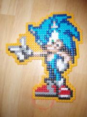 Talk about creativity! How to use perler beads (minecraft crafting)