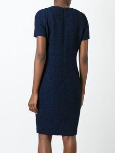 Chanel Vintage приталенное платье с панельным дизайном