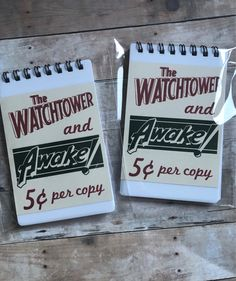 Set of 2 Small pocket size notepads/ Pioneer Gift/ Service notebook/ Ministerio del campo/ Jehovahs Witnesss/ Best life ever/ Jw Gifts/ kids Pioneer School Gifts, Pioneer Gifts, Jw Gifts, Craft Gifts, Caleb Et Sophia, Jw Convention, Jw Pioneer, Gift Of Faith, Texas Gifts