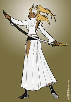 Mija Padilla by Geofffffff on DeviantArt Naruto Oc Characters, Bleach Characters, Black Anime Characters, Bleach Art, Bleach Manga, Character Art, Character Design, Martial Arts Techniques, Dnd Monsters
