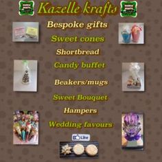 Kazelle Krafts is a Wedding Supplier of Hen Party, Stag Party, Favours & Gifts, Children's Entertainment. Are you planning your Big Day and looking for wedding items, products or services? Why not head over to MyWeddingContacts.co.uk and take a look at Kazelle Krafts's profile page to see what they have to offer. Helping make your wedding day into a truly Amazing Day. Oh, and good luck and best wishes with your Wedding.