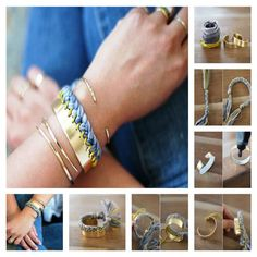 DIY Braided Cuff!