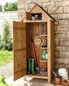 18 Affordable Garden Shed Plans Ideas for You Diy Shed Plans, Dyi Shed, Diy Shed Kits, Small Shed Plans, Shed Ideas, Garage Shed, Wood Shed Plans, Garden Shed Diy, Small Garden Tool Shed