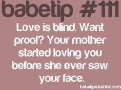 babe tip #111 I love this one