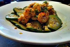 Garam Masala Shrimp and Zucchini