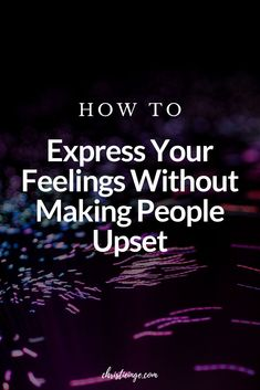 It can be challenging to express your feelings without making other people upset. Here are some tips on how to communicate in a healthy way. #unresolvedfeelings #healthyliving #relationships #communication #relationshipskills #feelings #emotions Success Mindset, Positive Mindset, Authentic Self, Self Quotes, Self Acceptance, Self Discovery, Learning To Be, Self Improvement, Other People