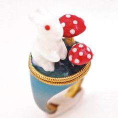 buymadesimple.com: Turquoise Wild Rabbit Ring