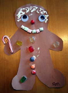 manger crafts preschool | ... Diary: Twice the Angst in Half the Time: Preschool Christmas Crafts