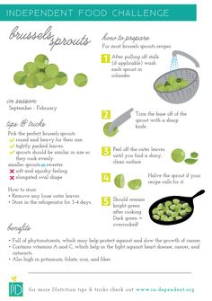 How to prepare Brussels sprouts. #OLW