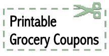 The latest grocery coupons from coupons.com, coupon network, redplum, savingstar, cellfire, more. Updated Tuesdays.