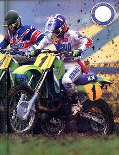 Jeff Ward - Kawasaki - 1987 MX DES NATIONS