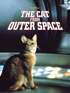 Oh my gosh I used to watch this when I was a kid!!! The Cat from Outer Space (1978)