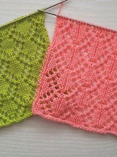 Ladies Cardigan Knitting Patterns, Lace Knitting Stitches, Kids Knitting Patterns, Crochet Stitches Patterns, Lace Patterns, Free Knitting, Stitch Patterns, Sock Knitting, Crochet Yarn