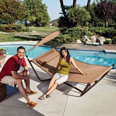 I like this hammock. I want to lounge in it right now!