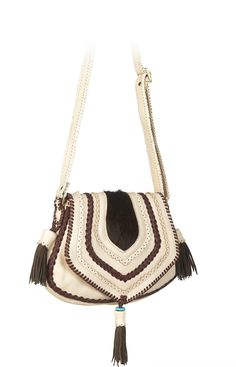 Brown with sandy white Benirras Bag