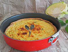 Torta salata con Cavolo Verza