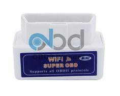 quality wifi super obd elm327 car diagnostic scanner works on smart phone androidios elm 327 wifi obdii tester