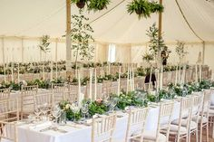 Traditional is the New Modern Canopy Lights, Tent Poles, Trestle Table, Marquee Wedding, Large Photos, Window Panels, Fairy Lights, Case Study, Greenery